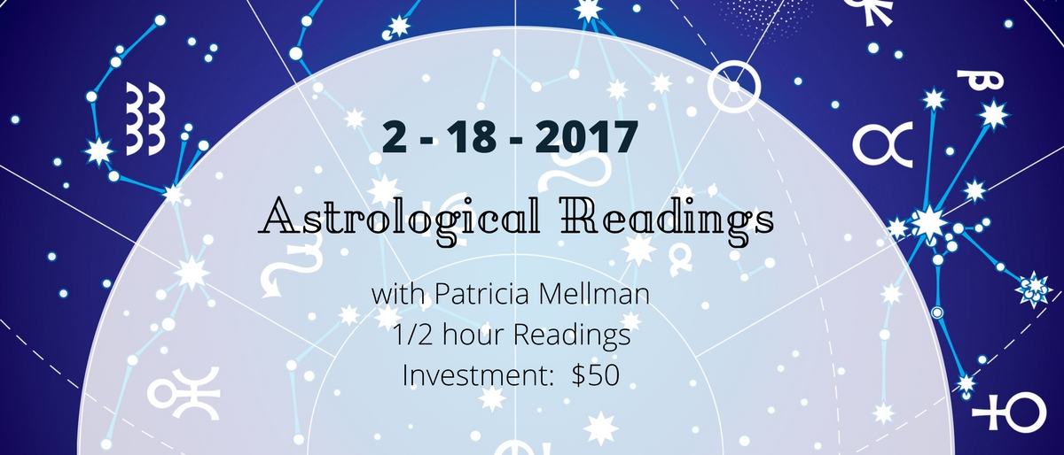 with Patricia Mellman1_2 hour ReadingsInvestment_