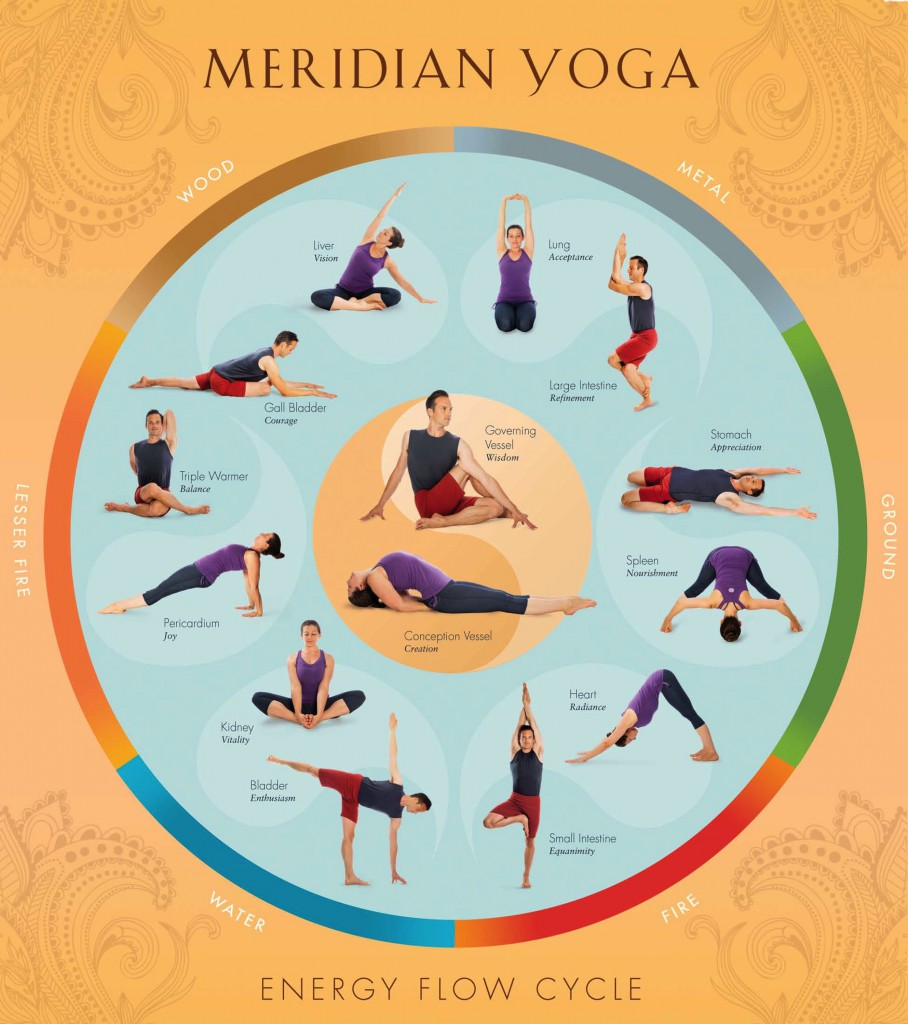 Meridian Yoga Level 2 Certification